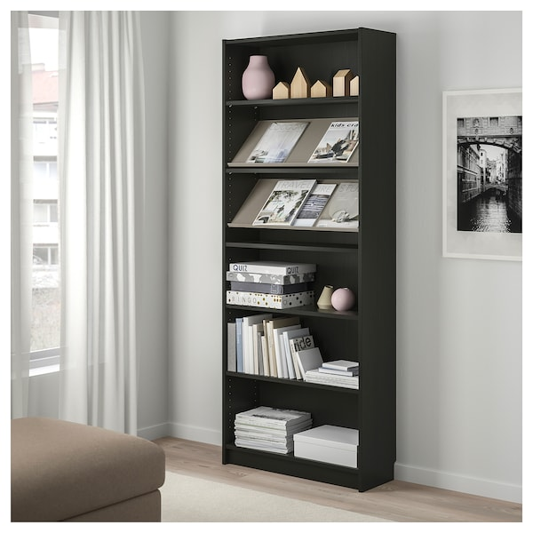 Super Bookcase With Display Shelf Billy Bottna Black Brown Beige Download Free Architecture Designs Intelgarnamadebymaigaardcom