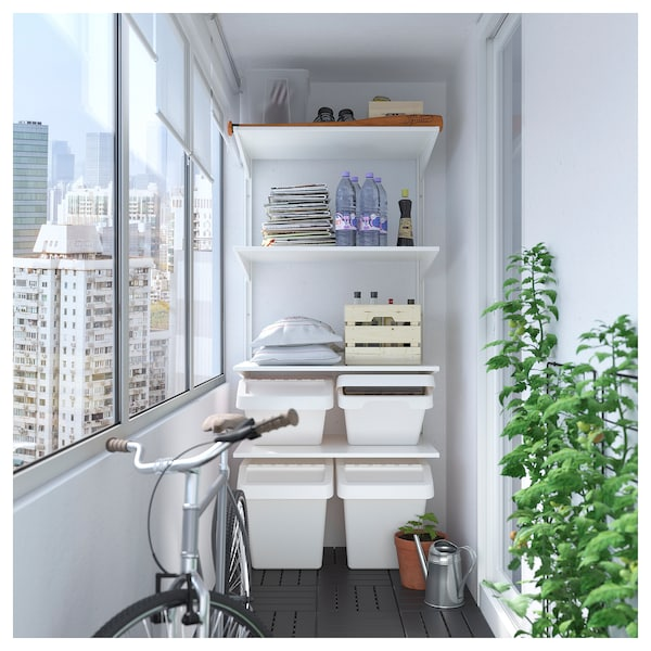 IKEA ALGOT Wall unit with shelves