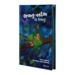 DJUNGELSKOG boek, Orang-oetan is bang