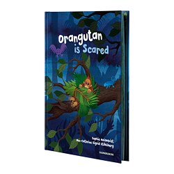 DJUNGELSKOG, Book, Orangutan is Scared
