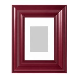 SKATTEBY frame, dark red