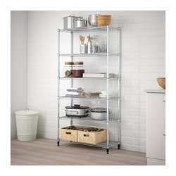OMAR 1 section shelving unit $49.98