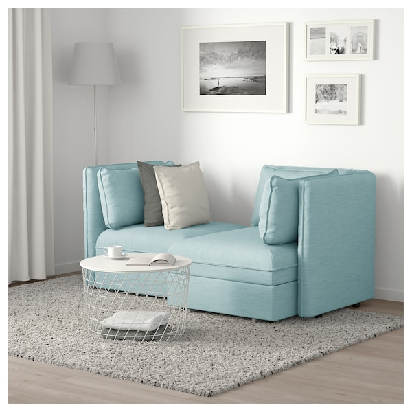 Vallentuna 2 Seat Modular Sofa With Sofa Bed And Storage Hillared
