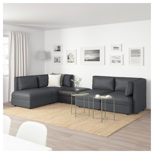 Vallentuna Modular Corner Sofa 4 Seat With Storage Hillared
