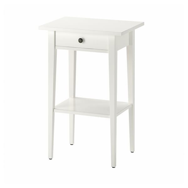 Table De Chevet Haute.Table De Chevet Hemnes Blanc