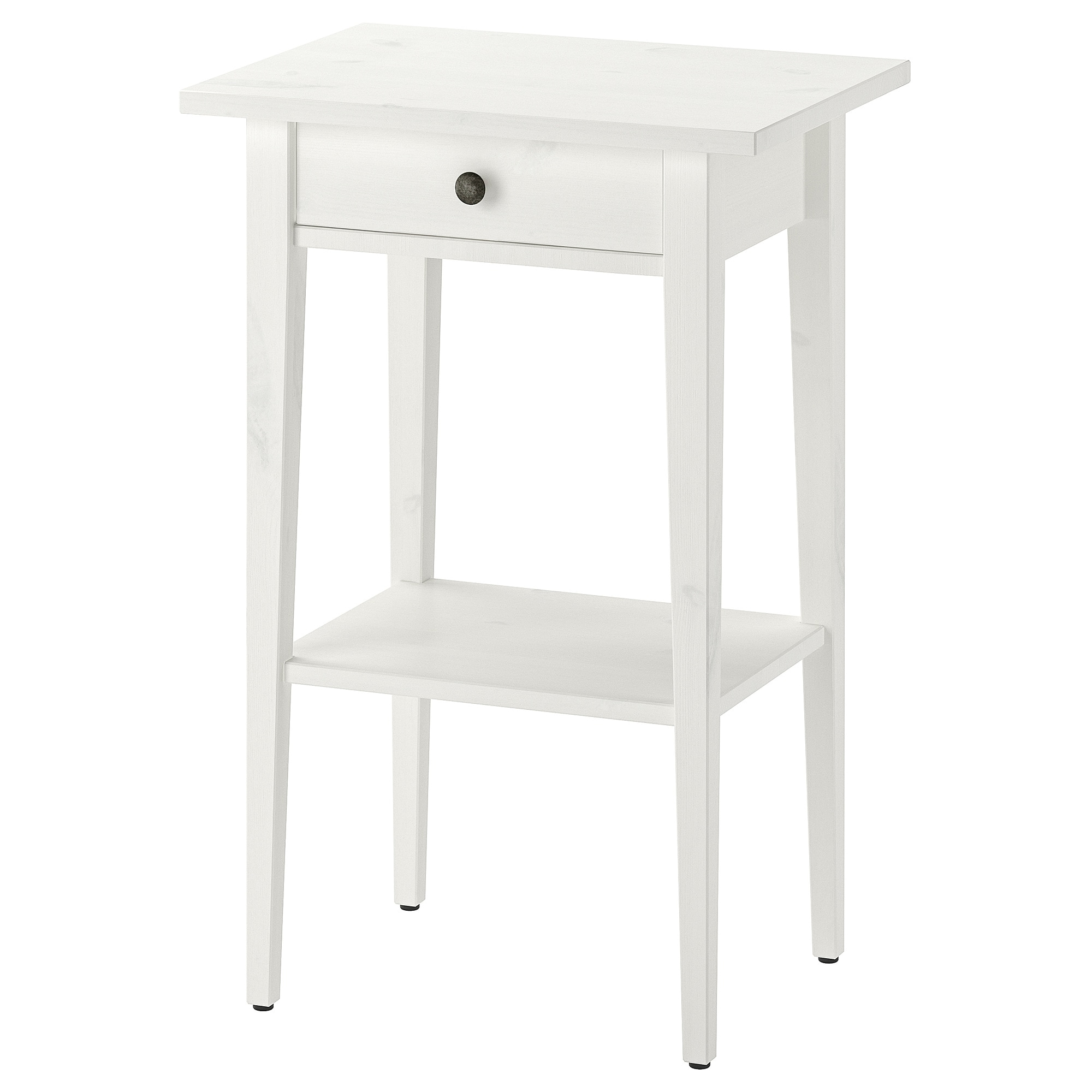 new concept 26ead 8f9be Nightstand HEMNES white stain