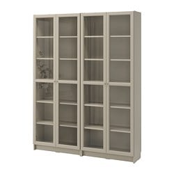BILLY bookcase, beige