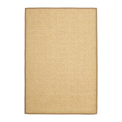 VISTOFT rug, flatwoven, natural