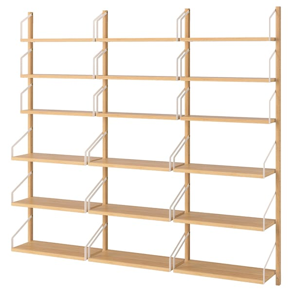 competitive price a1b6f 12cf8 Wall-mounted shelf combination SVALNÄS bamboo