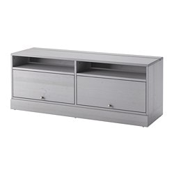 HAVSTA TV Unit With Base, Gray