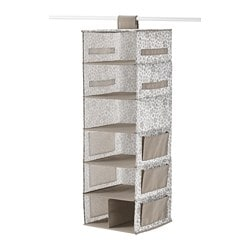 STORSTABBE Hanging storage with 7 compartments