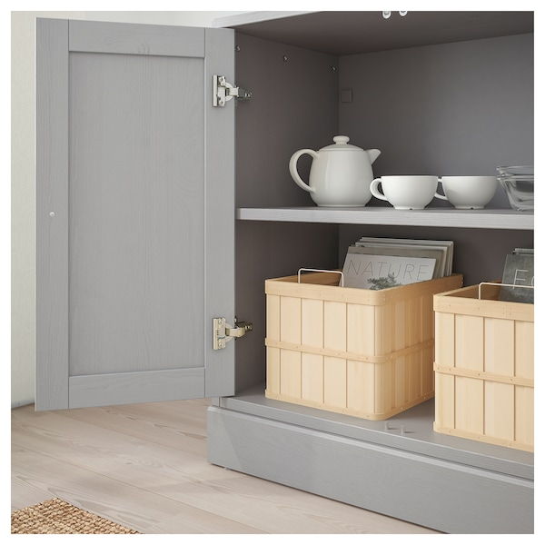 Havsta Cabinet With Base Gray