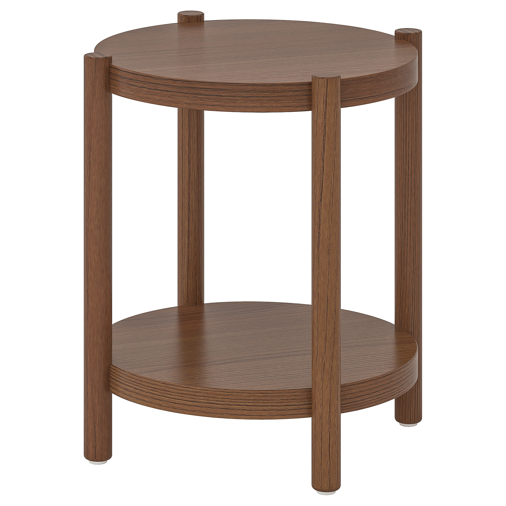 LISTERBY Side table - white stained oak - IKEA