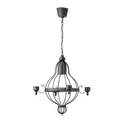 ÄPPELVIKEN chandelier, 4-arm