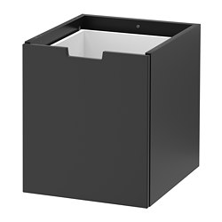 NORDLI modular chest, anthracite