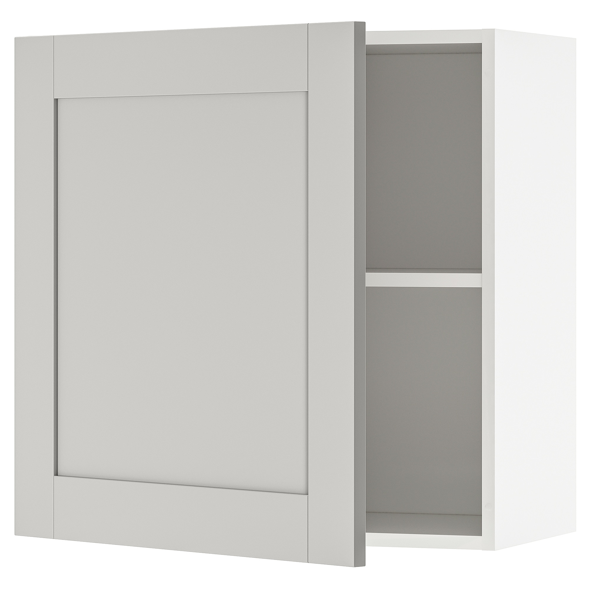 Wall Cabinet With Door Knoxhult Grey