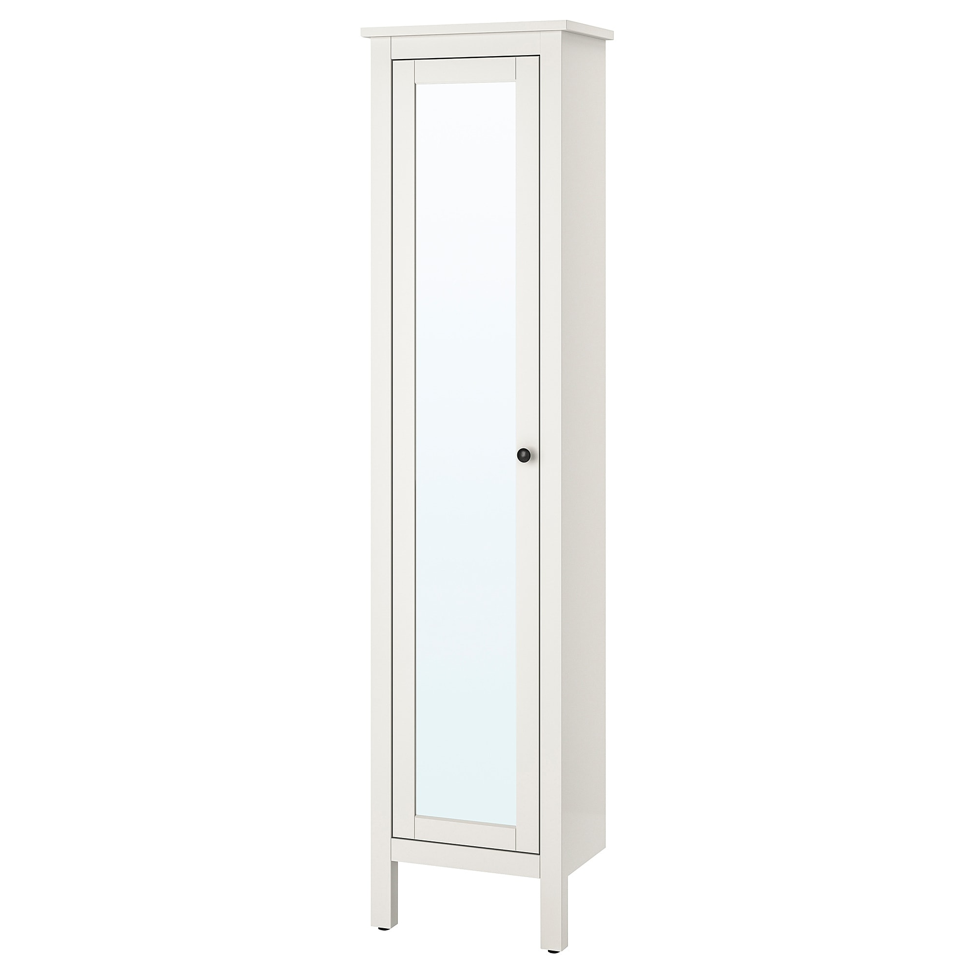 IKEA HEMNES High Cabinet With Mirror Door