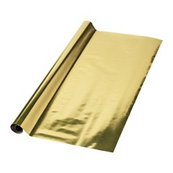 VINTER 2018 gift wrap roll, gold-colour