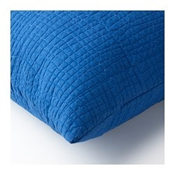 TÄNKVÄRD cushion cover, blue
