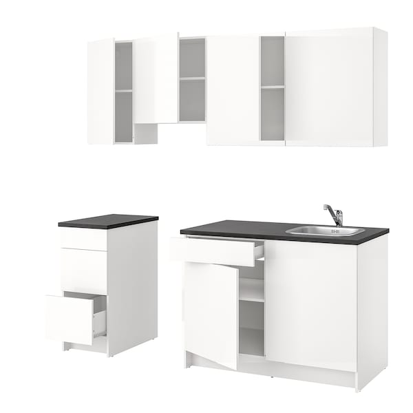 Cucina KNOXHULT lucido bianco