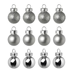VINTER 2018 ornament, silver color