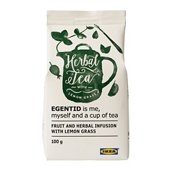 EGENTID fruit and herbal infusion, lemon grass, UTZ certified