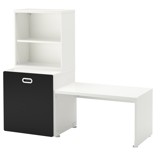 stuva fritids table avec rangement jouet blanc. Black Bedroom Furniture Sets. Home Design Ideas