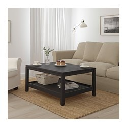 HAVSTA Coffee table - dark brown - IKEA