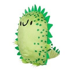 SAGOSKATT soft toy, hedgehog dinosaur