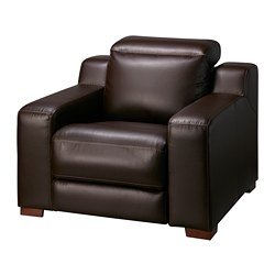 Uttran Reclining Armchair Kimstad Dark Brown