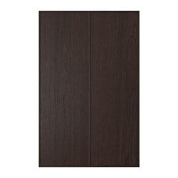 EKESTAD door for corner base cabinet, brown