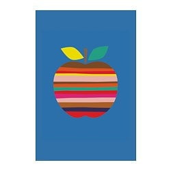 BILD poster, Colourful apple