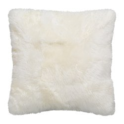 EVALINN cushion cover, sheepskin white