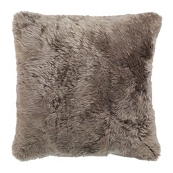 EVALINN cushion cover, sheepskin beige