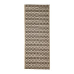 LOBBÄK rug flatwoven, in/outdoor, beige