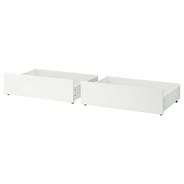 Underbed Storage Box For High Bed Malm White