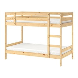 MYDAL bunk bed frame, pine