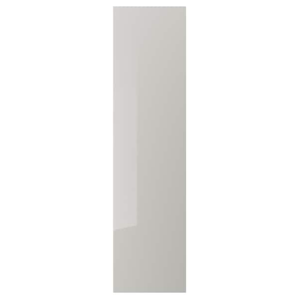 best service 48dc0 53cdc Door with hinges FARDAL high-gloss, light grey