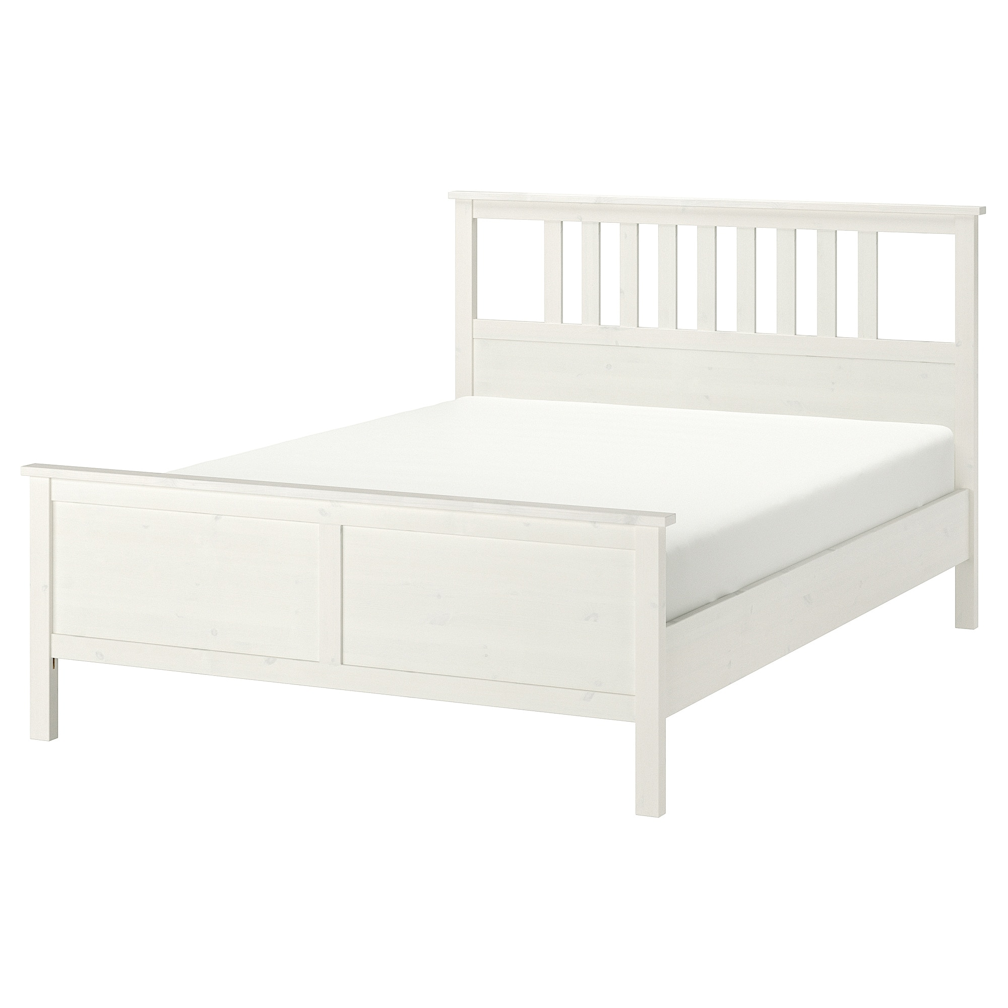 Delicieux Bed Frame HEMNES White Stain, Luröy