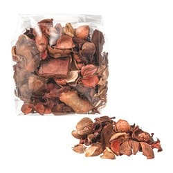 DOFTA potpourri, scented, Nutmeg and vanilla brown