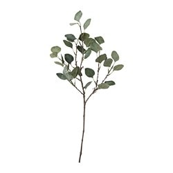 SMYCKA artificial leaf, eucalyptus, green