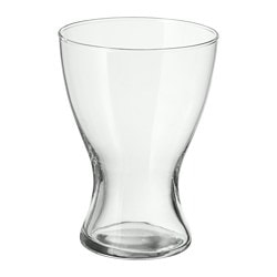 VASEN vase, clear glass