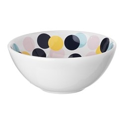 FRAMKALLA bowl, patterned