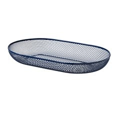 NÄTVERK serving basket, blue
