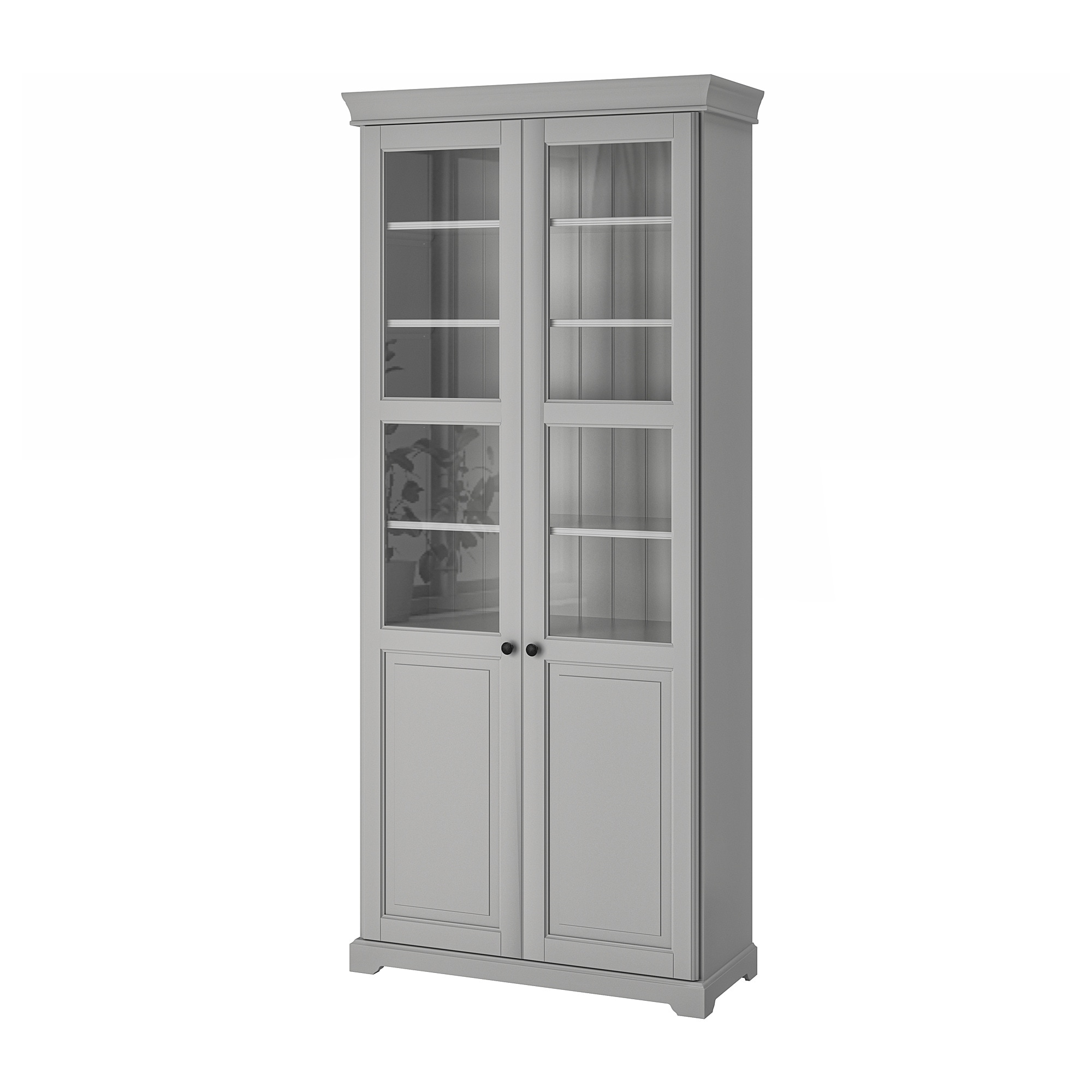 Liatorp Bookcase With Glass Doors White Ikea