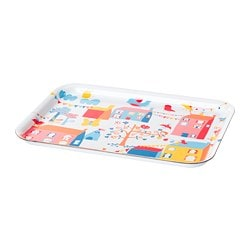 SOMMAR 2019 tray, multicolour