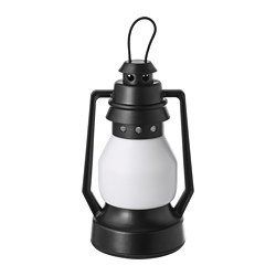 VINTER 2018, LED decorative light, battery operated, lantern black
