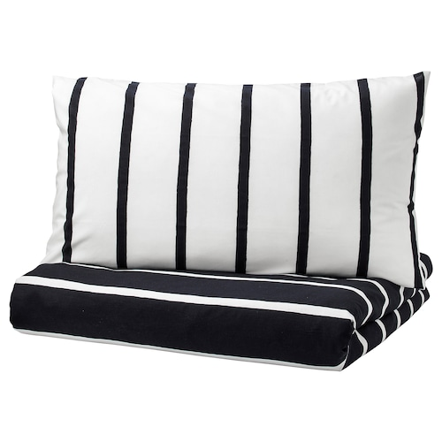 IKEA TUVBRÄCKA Quilt cover and 2 pillowcases