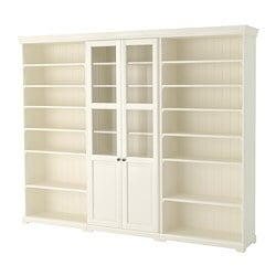 LIATORP storage combination, white