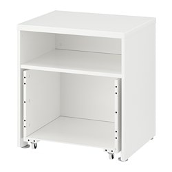 STUVA frame with box on casters